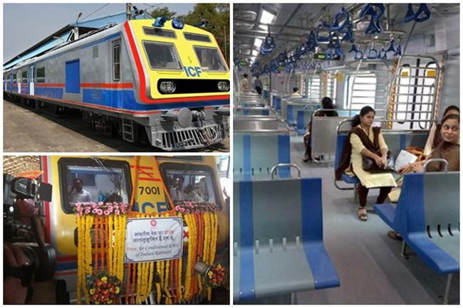 First AC local train starts in Mumbai; commuters elated