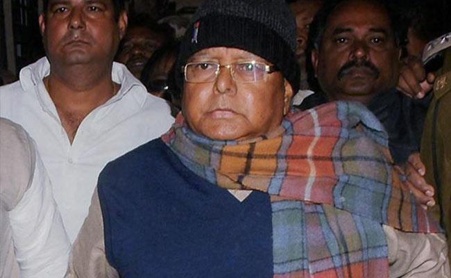 Fodder scam : Lalu Prasad's sentencing to be announced tomorrow