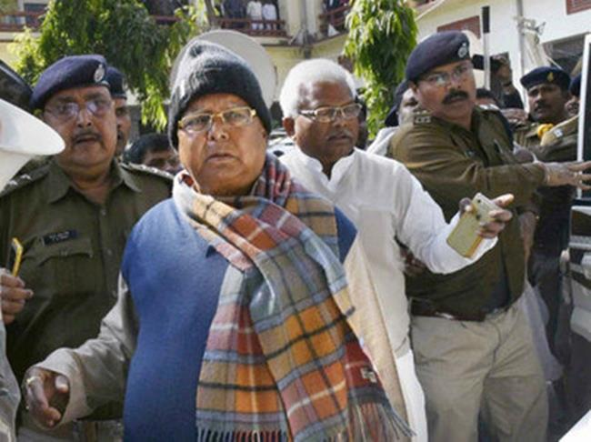 Lalu roars, says will DIE but never bow before BJP